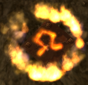 One of the seven runes which players had to quench with the Quintessence.