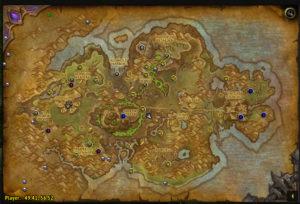 Tanaan Jungle Map