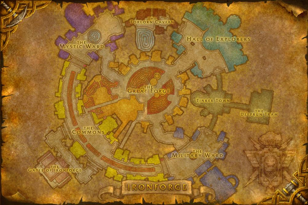 Postcards from Azeroth – Ironforge – Reading With Leashes